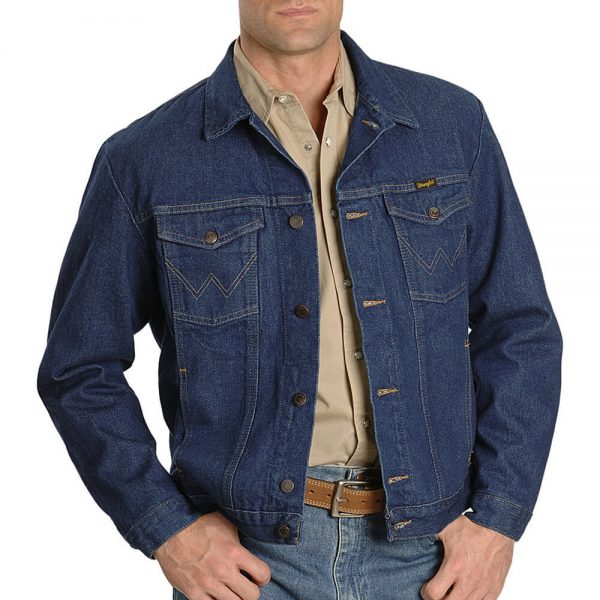 Wrangler Jean Jacket - Blue Denim