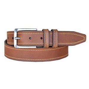 Lejon Vintage Bison Western Belt – Wrigley Tan