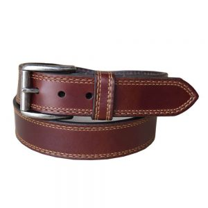 Lejon Western Belt Springcreek Leather T Moro