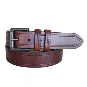 Lejon Vintage Bison Western Belt – Double Haul T-Moro