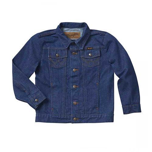 Wrangler® Boy's Cowboy Cut® Unlined Denim Jacket