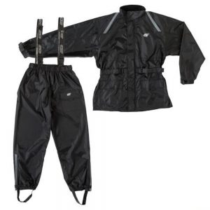 GKS Waterproof Two-Piece Motorcycle Rain Suit