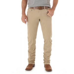 Men's Wrangler Retro® Slim Fit Straight Leg Pant - Fawn
