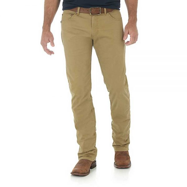 Men's Wrangler Retro® Slim Fit Straight Leg Pant - Acorn