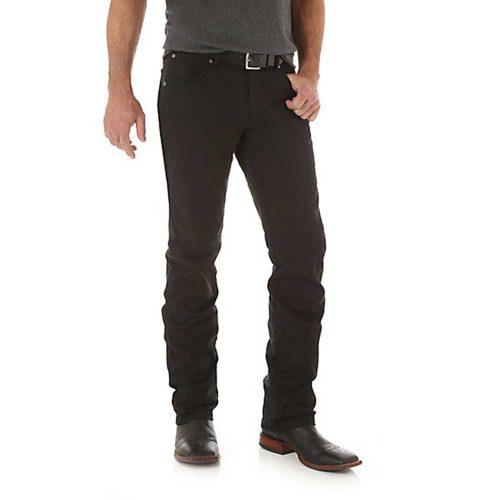 Men's Wrangler Retro® Slim Fit Straight Leg Pant - Black