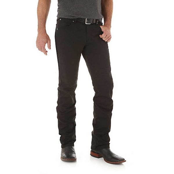 Men's Wrangler Retro® Slim Fit Straight Leg Pant - Black