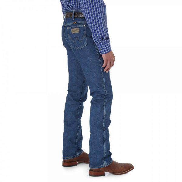 Wrangler 936GSHD Men's George Strait Slim Fit Jeans - Blue