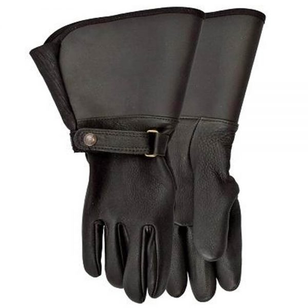 Watson Interstate Lined Motorcycle Gloves - Black
