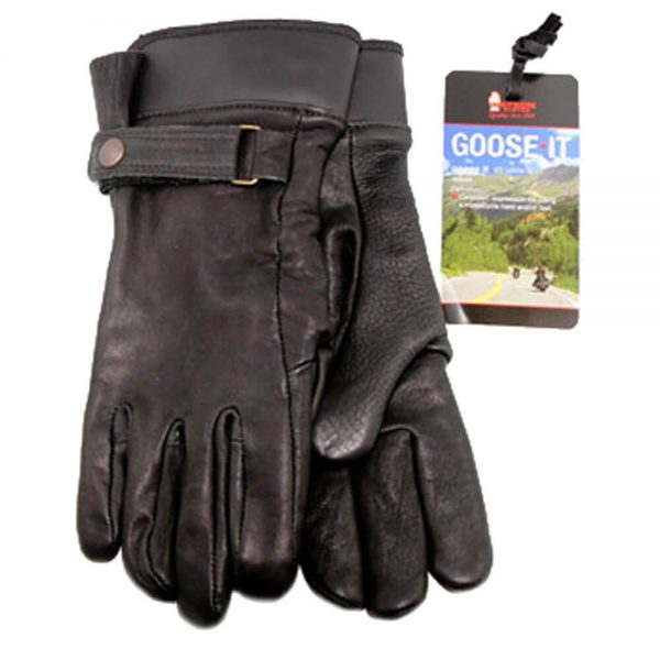 Watson Low Rider Motorcycle Gloves - Black