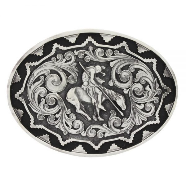 Montana Silversmith Attitude Buckle - End of the Trail