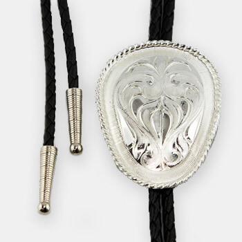 Austin Accent Bolo Tie - Silver
