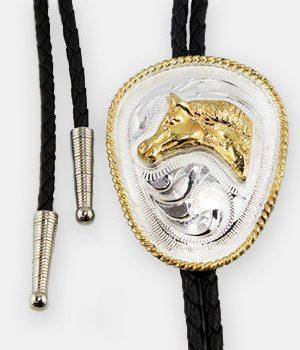 Austin Accent Bolo Tie - Horse Head - AC54Q