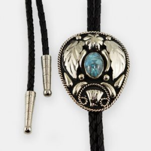 Austin Accent Bolo Tie - Turquoise Stone