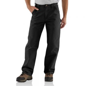 Carhartt Washed Duck Work Dungaree - Black