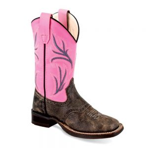 Old West Kids Western Cowboy Boots