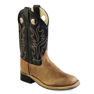 Old West Youth Western Cowboy Boots - BSY1814