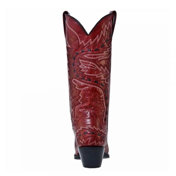 Sidewinder Dan Post Ladies Classic Western Boots – Red