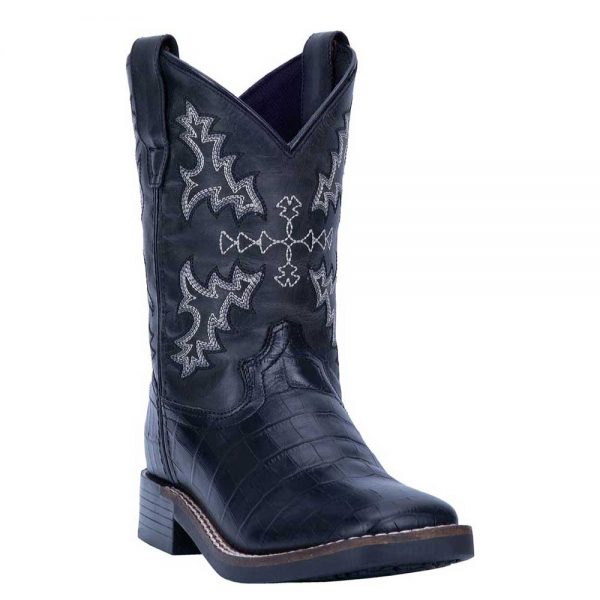 Dan Post Gator Print Cowboy Boot Youth