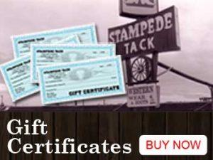 Stampede TAck Gift Certificates