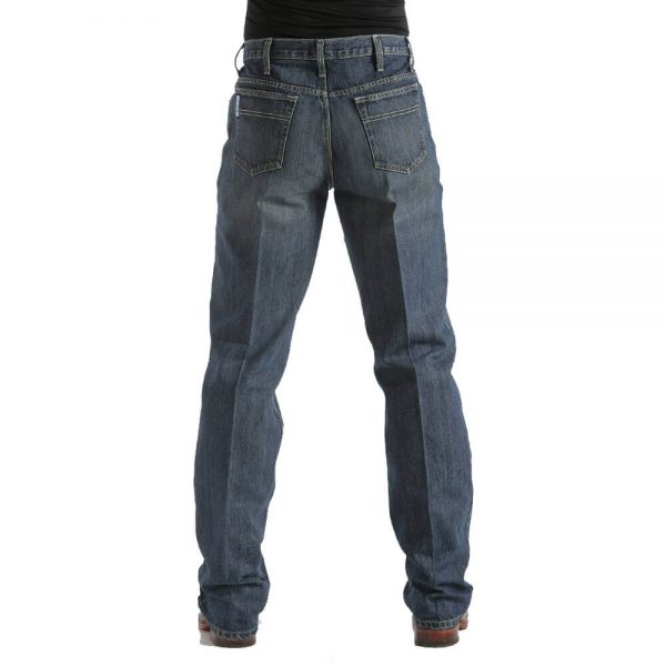 Cinch Jeans- Mens Relaxed Fit White Label Jeans - Dark Stonewash