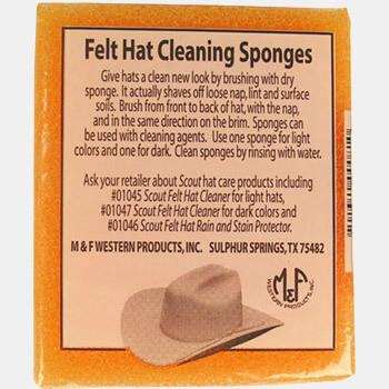 M&F Western Felt Hat Sponge