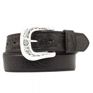 Nocona Bullhide Leather Belt - Black