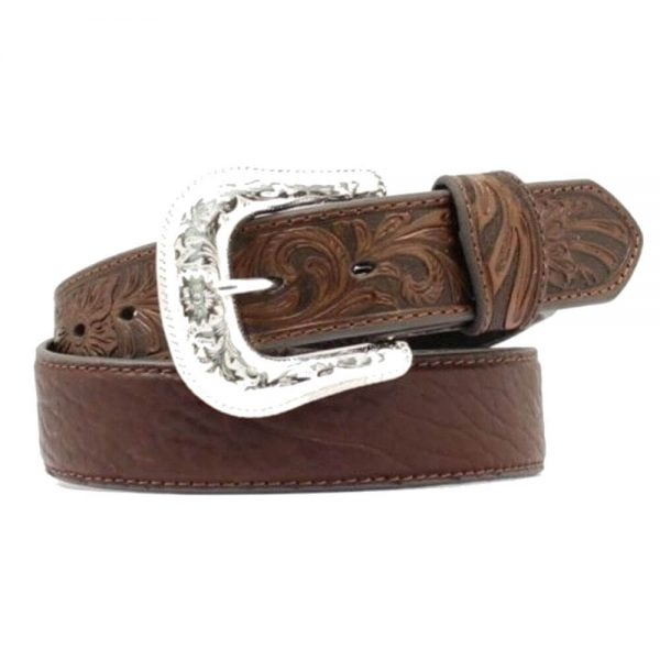 Nocona Bullhide Leather Belt - Brown