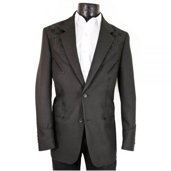 Men's Scully Western Blazer - Black
