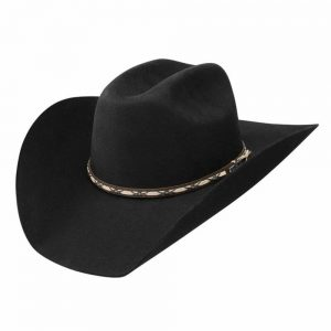 Jason Aldean Amarillo Sky Felt Hat by Resistol - Black