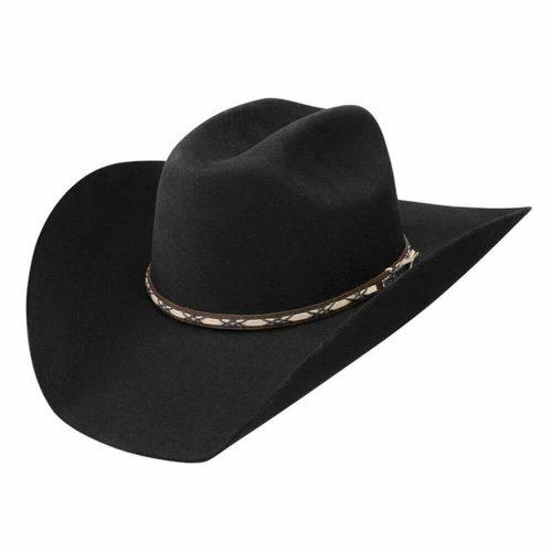 Jason Aldean Amarillo Sky Felt Hat by Resistol - Black