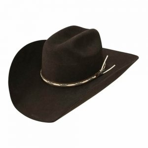 Jason Aldean Amarillo Sky Felt Hat by Resistol - Chocolate