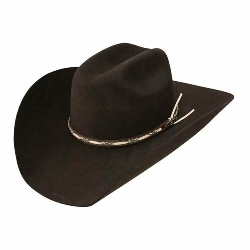 Jason Aldean Amarillo Sky Felt Hat by Resistol - Chocolate