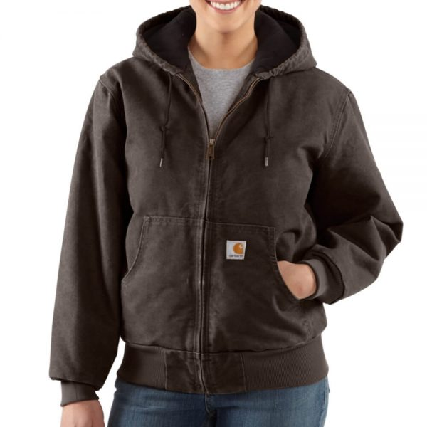 Carhartt Women's Sandstone Active Jacket - Dark Brown