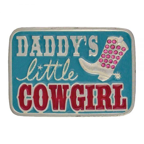 Montana Silversmith Attitude Buckle - Daddy's Little Cowgirl