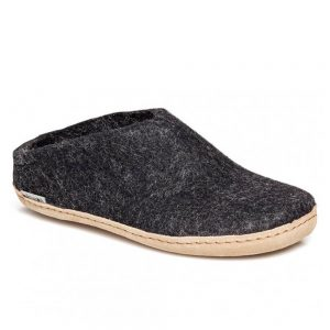 Glerups Slippers - Charcoal