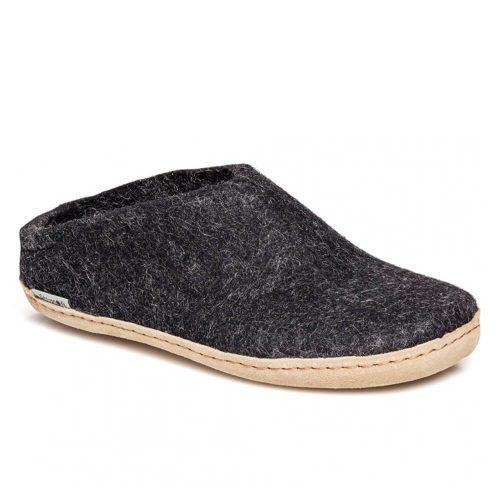 Glerups Slippers - Charcoal