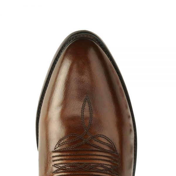 Dan Post All Over Antique Tan Leather R Toe