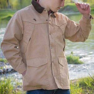 Wyoming Traders Men's Ranch Canvas Coat - Tan