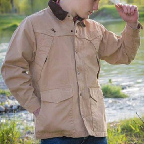 Wyoming Traders Men's Ranch Canvas Coat - Tan