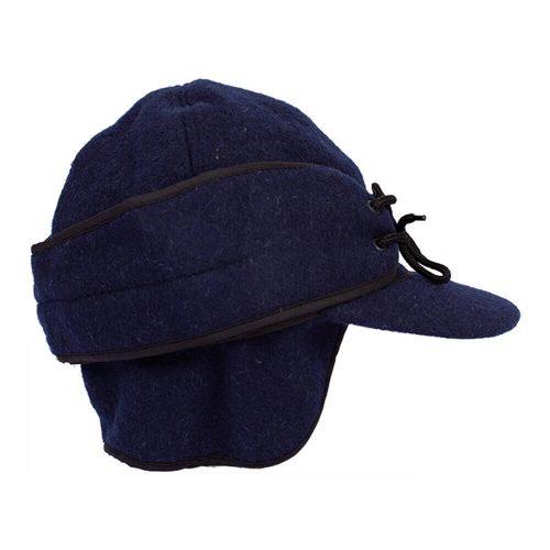 Wyoming Traders Mackenzie Wool Hat - Navy