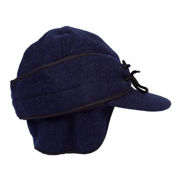 Wyoming Traders Mackenzie Wool Hat - Navy