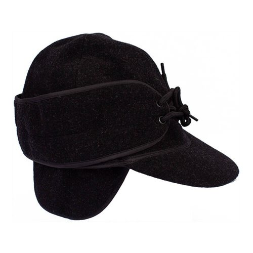 Wyoming Traders Mackenzie Wool Hat - Black