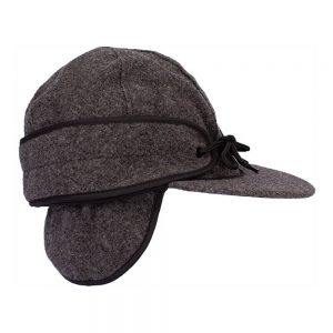 Wyoming Traders Mackenzie Wool Hat - Charcoal
