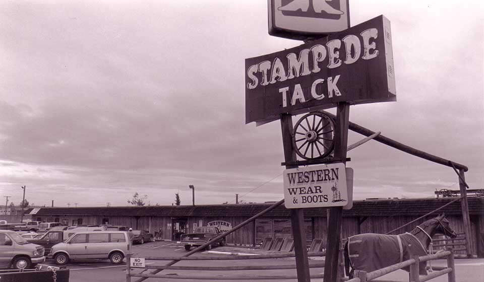 Stampede Tackand Western Wear History