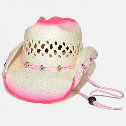 Pink Bling Children's Hat