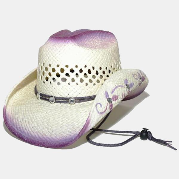 Purple Bling Children's Hat