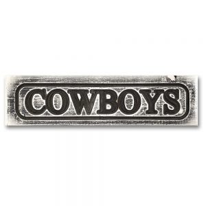 Signs by Rustique Wall Decor - Cowboys