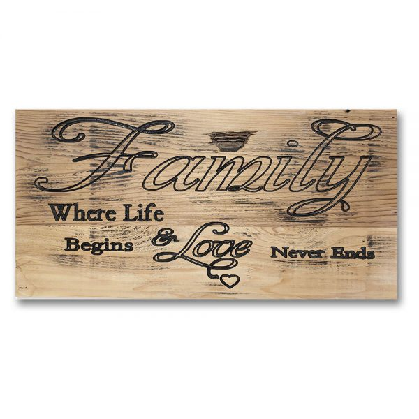 Signs by Rustique Decor - Family