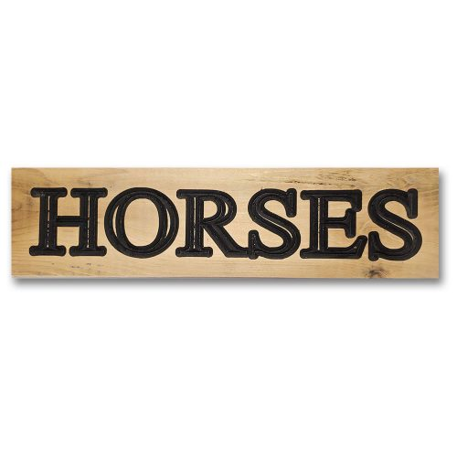 Signs by Rustique Wall Decor - Horses