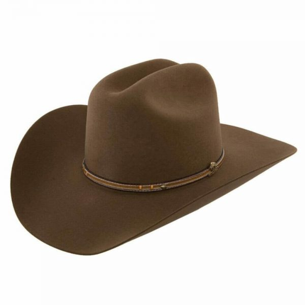 Stetson Powder River - (4X) Buffalo Felt Cowboy Hat - Mink